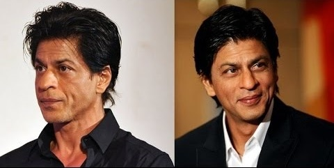Bollywood Male Actors Plastic Surgery Before and After Photos Shah Rukh Khan