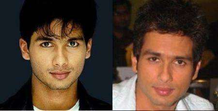 Bollywood Male Actors Plastic Surgery Before and After Photos Shahid Kapoor